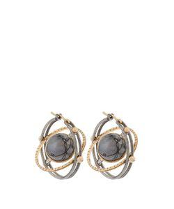 ELIE TOP | Diamond Silver Yellowmir Earrings