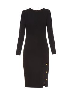 Lamania | Antares Long-Sleeved Crepe Dress
