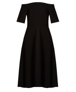 Tibi | Off-The-Shoulder Stretch-Crepe Dress
