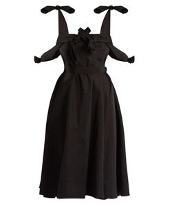 Maison Rabih Kayrouz | Tie-Waist Cotton-Poplin Dress
