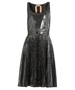 No. 21 | Sequin-Embellished Pleated Dress
