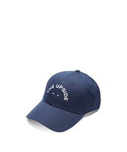 THE UPSIDE | Logo-Embroide Cotton Cap