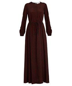 Diane Von Furstenberg | Ferma-Print Silk Maxi Dress
