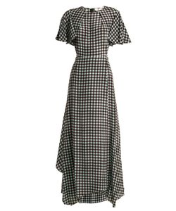 Diane Von Furstenberg | Fluted-Sleeve Cossier-Print Silk Dress