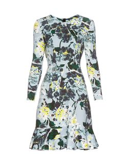 Erdem | Judy Hydrangea-Print Scuba-Knit Dress