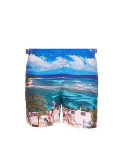 Orlebar Brown | Bulldog Mustique Mystique-Print Swim Shorts