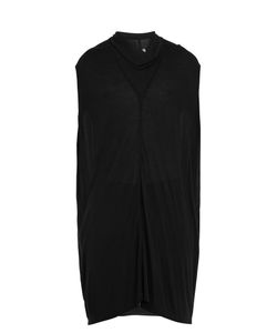 Rick Owens | Cowl-Neck Sleeveless Jersey Top
