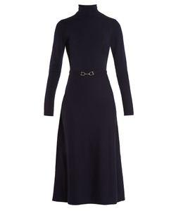 Gabriela Hearst | Betty Open-Back Wool-Blend Dress