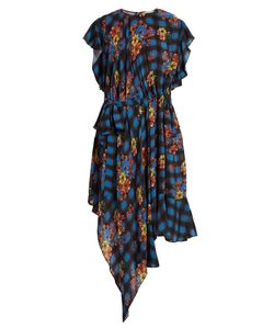 Preen Line | Ora And Check-Print Woven Dress