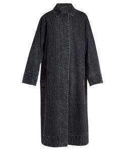 The Row | Luster Selvedge-Denim Long-Line Coat