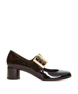 Lanvin | Buckle-Detail Patent-Leather Shoes