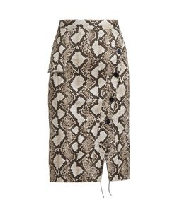 Altuzarra | Curry Snake-Print Pencil Skirt