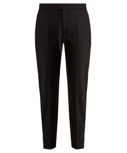 Red Valentino | Slim-Leg Twill Cropped Trousers