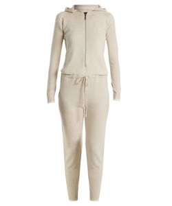 PEPPER & MAYNE | Hooded Cashmere Jumpsuit