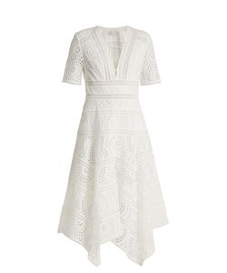 Zimmermann | Meridian Broderie-Anglaise Cotton Dress