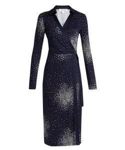 Diane Von Furstenberg | Dot-Print Silk-Jersey Dress