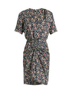 Isabel Marant   Rehora Print Silk-Habotai Dress