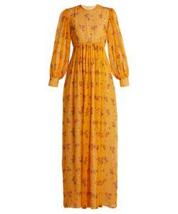 Emilia Wickstead | Pia Rose-Print Silk-Chiffon Dress