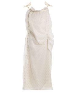 Maison Margiela | Asymmetric Sleeveless Silk-Organza Dress