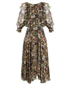 Preen By Thornton Bregazzi | Emiliana Print Silk-Georgette Dress