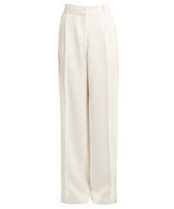 RYAN ROCHE | Wide-Leg Crepe Trousers