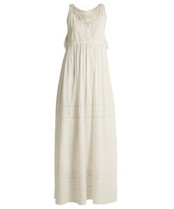 Current/Elliott | The Lace Cotton Maxi Dress