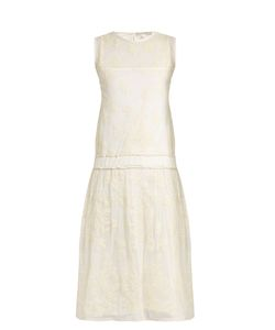 QUEENE AND BELLE | Liliana Embroidered Mesh Dress