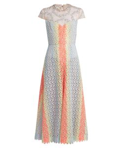 Gabriela Hearst | Putman Guipure-Lace Open-Back Dress