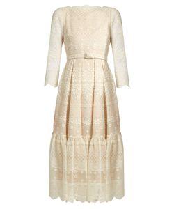 Erdem | Cherlyn Embroidered Tulle Dress