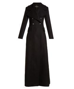 Burberry | Oversized-Lapel Double-Breasted Wool Coat