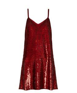 Ashish | V-Neck Sequin-Embellished Mini Dress
