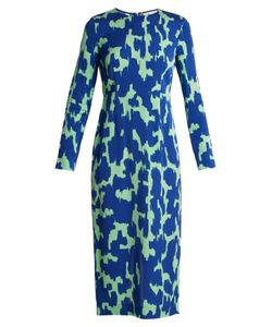 Diane Von Furstenberg | Long-Sleeved Stretch-Cady Pencil Dress