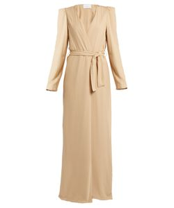 RYAN ROCHE | Belted Silk Cardigan