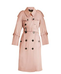 Burberry | Lakestone Double-Breasted Cashmere Trench Coat