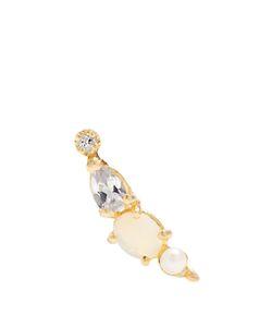 LOREN STEWART | Diamond Topaz Opal Pearl Earring