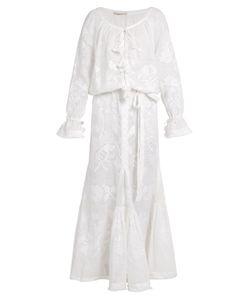 Vita Kin | Poppy Embroidered Linen Dress