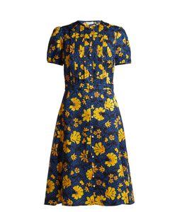 Altuzarra | Madelena Print Silk-Jacquard Midi Dress