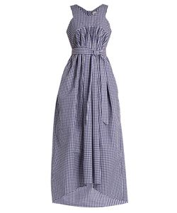 Teija | V-Neck Sleeveless Gingham Dress