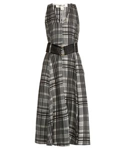 Diane Von Furstenberg | Sleeveless Silk-Twill Midi Dress