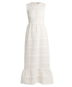 Red Valentino | Macramé-Lace Maxi Dress