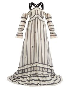 Erdem | Jay Cotton And Silk-Blend Organdy Gown
