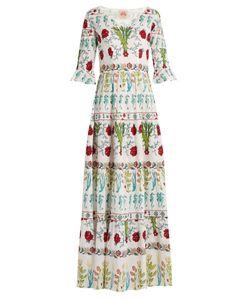 LE SIRENUSE, POSITANO | Anita Garden-Print Cotton Dress