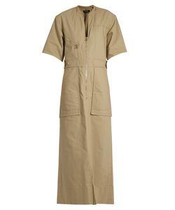 Isabel Marant   Toby Cotton-Twill Maxi Dress