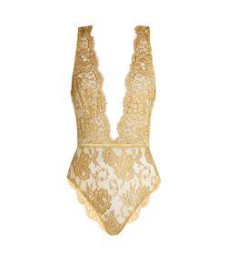 COCO DE MER | Gaia Rouleau-Button Lace Bodysuit