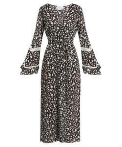 Athena Procopiou | Night Dream Print Silk Kimono