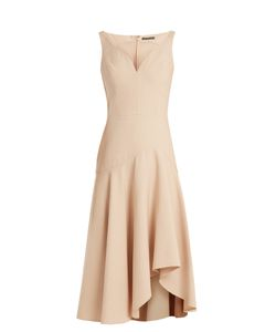 Alexander McQueen | Sweetheart-Neck Wool And Silk-Blend Cady Dress