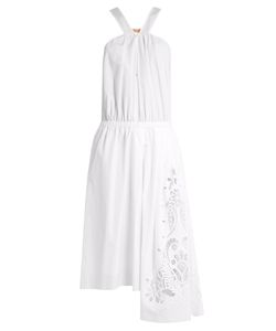 No. 21 | Broderie-Anglaise Panel Cotton Dress