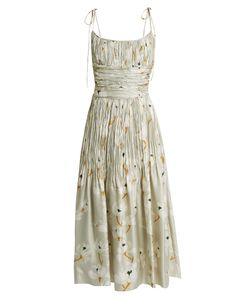 BROCK COLLECTION   Didier Pleated-Silk Dress