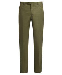Etro | Stretch-Cotton Panama Trousers