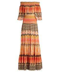Temperley London | Prophecy-Print Chiffon Dress